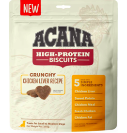 Acana Acana High Protein Biscuits | Chicken Liver Recipe Small 9 oz
