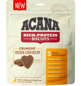 Acana Acana High Protein Biscuits | Chicken Liver Recipe Large 9 oz