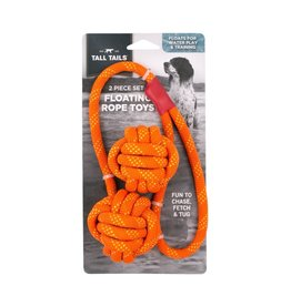 Tall Tails Tall Tails Dog Toy | Floating Rope Toy 2 pc
