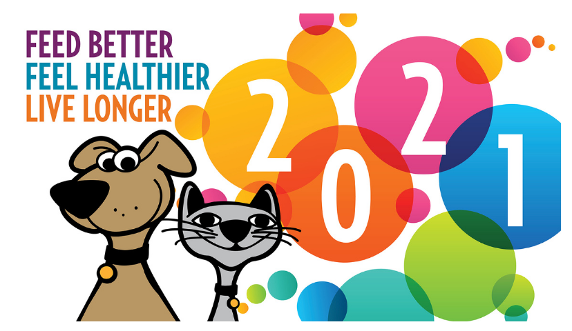 2021 Is The Time To Feed Your Pet Better, So They Feel Healthier & May Live Longer.