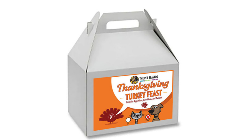 Announcing Our Thanksgiving Turkey Feast Dinners Prepared Just For Your Cat Or Dog