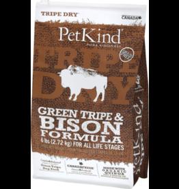 Petkind PetKind Dog Kibble Bison Tripe 6 lb