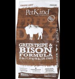 Petkind PetKind Dog Kibble Bison Tripe 25 lb