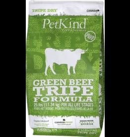 Petkind PetKind Dog Kibble Green Beef Tripe 25 lb