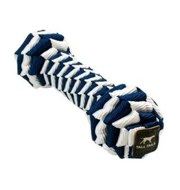 Tall Tails Tall Tails Dog Toy Braided Bone Navy 9 in