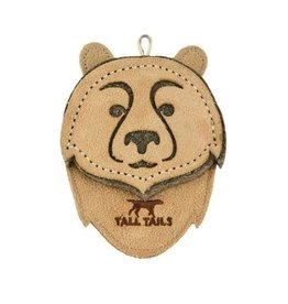 Tall Tails Tall Tails Dog Toy Natural Leather Bear