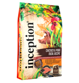 Inception Inception Dog Kibble | Chicken & Pork Recipe 27 lb