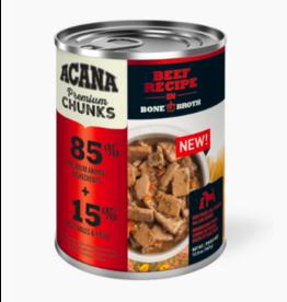 Acana Acana Canned Dog Food | Beef Recipe 12.8 oz CASE