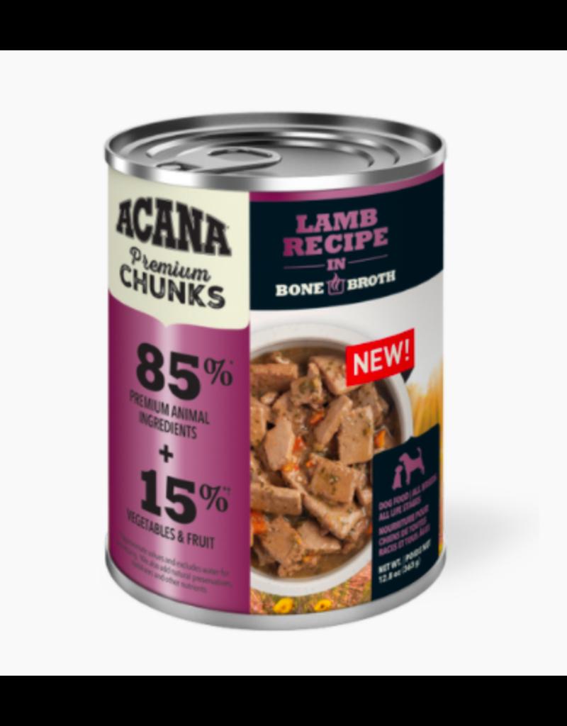 Acana Acana Canned Dog Food | Lamb Recipe 12.8 oz CASE