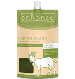 Steve's Real Food Steve's Real Food Enhance Raw Goat Milk | CarnaForage 16 oz (*Frozen Products for Local Delivery or In-Store Pickup Only. *)