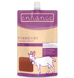 Steve's Real Food Steve's Real Food Enhance Raw Goat Milk | PurrGurt 16 oz (*Frozen Products for Local Delivery or In-Store Pickup Only. *)