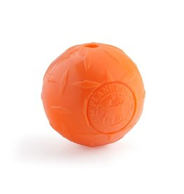 Planet Dog Planet Dog Orbee Tuff Diamond Plate Ball Orange 3""