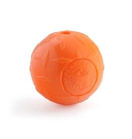 "Planet Dog Planet Dog Orbee Tuff Diamond Plate Ball Orange 4"""