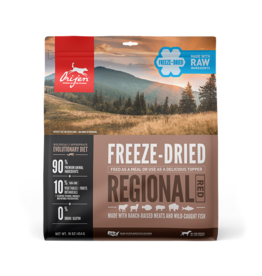 Orijen Orijen Freeze Dried Dog Food Regional Red 16 oz