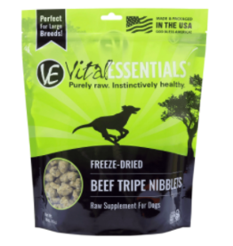 Vital Essentials Vital Essentials Dog Freeze Dried Beef Tripe Nibblets 16 oz