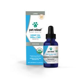 Pet Releaf Pet Releaf Full Spectrum Hemp Oil | Large 500 mg (1 oz)