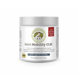 Wholistic Pet Organics Wholistic Pet Organics Joint Mobility with GLM 8 oz