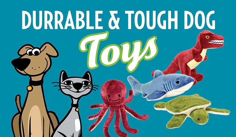 Durable & Tough Dog Toys