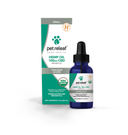 Pet Releaf Pet Releaf Full Spectrum Hemp Oil | Medium 100 mg (1 oz)