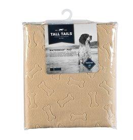 """Tall Tails Tall Tails WaterWoof Pad Tan Small/Medium 24"""" x 18"""""""