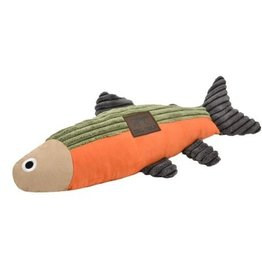 Tall Tails Tall Tails Dog Toy Fish Sage & Orange 12 in