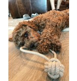 Tall Tails Tall Tails Dog Toy Natural Cotton & Jute Rope Tug Toy 13 in