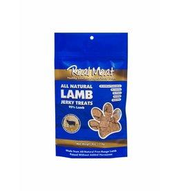 Real Meat Real Meat Dog Jerky Treats Lamb Jerky Bitz 4 oz