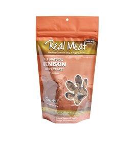 Real Meat Real Meat Dog Jerky Treats Venison Jerky Large Bitz 12 oz