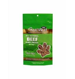Real Meat Real Meat Dog Jerky Treats Beef Jerky Bitz 4 oz