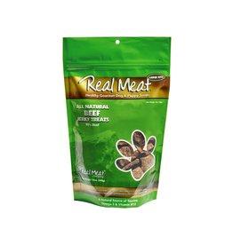 Real Meat Real Meat Dog Jerky Treats Beef Jerky Large Bitz 12 oz
