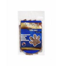Real Meat Real Meat Dog Jerky Treats Lamb Jerky Strips 8 oz