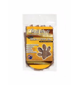 Real Meat Real Meat Dog Jerky Treats Chicken and Venison Jerky Strips 8 oz
