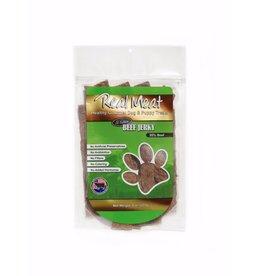 Real Meat Real Meat Dog Jerky Treats Beef Jerky Strips 8 oz