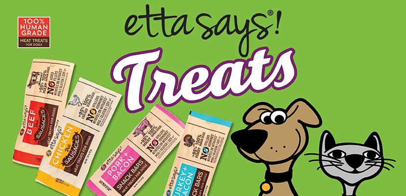 Etta Says All Natural Dog Treats