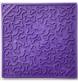 SodaPup SodaPup Lickimat | Bones Purple