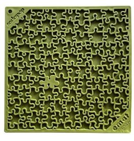 SodaPup SodaPup Lickimat | Jigsaw Puzzle Green