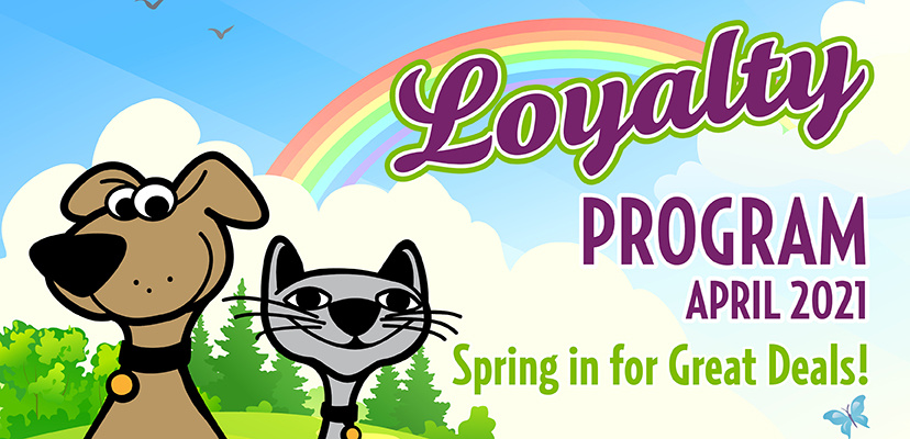 Hop On In For April Savings For Your Cat & Dog