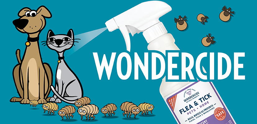 Wondercide Natural Flea & Tick Prevention For Cats & Dogs