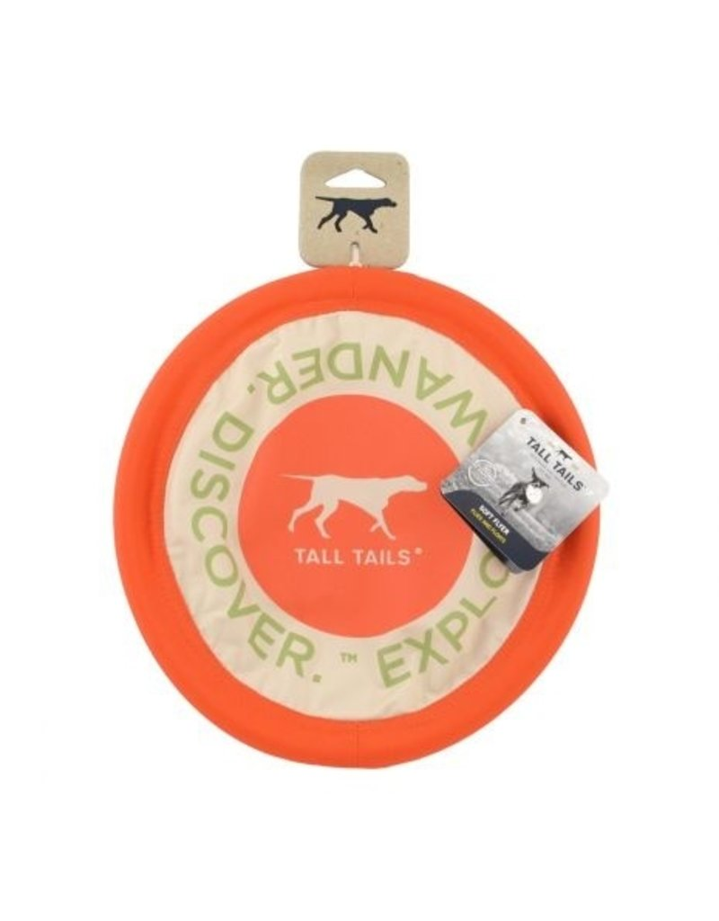 Tall Tails Tall Tails Dog Toy Soft Flying Disc 10 in