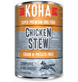 Koha Koha Canned Dog Food CASE Chicken Stew 12.7 oz