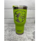 The Pet Beastro The Pet Beastro Tumbler | Dog Mom Green Heart Logo