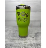 The Pet Beastro The Pet Beastro Tumbler | Dog Mom Green Motto Logo