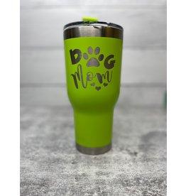 The Pet Beastro Tumbler | Dog Mom Green Motto Logo