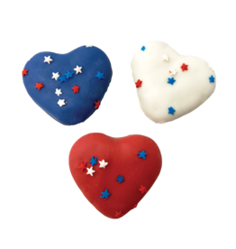 Bosco and Roxy's Bosco & Roxy's Dog Bless America Collection | Red, White, & Blue Hearts 3 pk