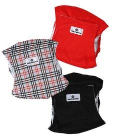 Pet Parents Pet Parents Reusable Belly Bands | Bella & Calvin Collection Designer Pack Extra Small (XS) 3 pk