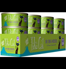 Tiki Cat Tiki Cat Canned Cat Food Papeekeo Luau (Ahi Tuna & Mackerel) 2.8 oz CASE
