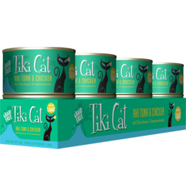 Tiki Cat Tiki Cat Canned Cat Food Hookena Luau (Ahi Tuna & Chicken) 6 oz CASE