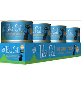 Tiki Cat Tiki Cat Canned Cat Food Napili Luau (Wild Salmon & Chicken) 6 oz CASE