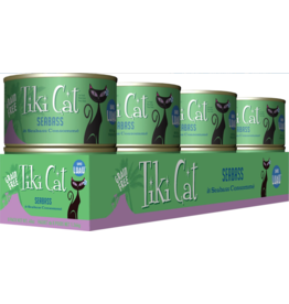 Tiki Cat Tiki Cat Canned Cat Food Oahu Luau (Seabass) 6 oz CASE