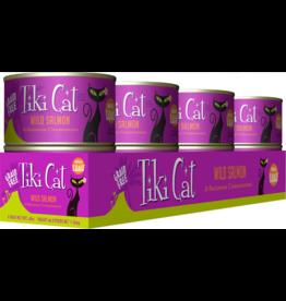 Tiki Cat Tiki Cat Canned Cat Food Hanalei Luau (Wild Salmon) 6 oz CASE